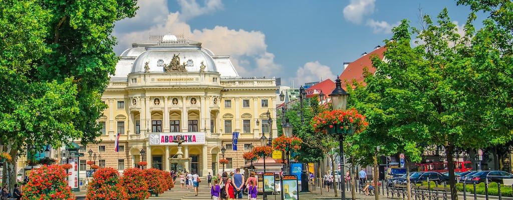 Bratislava walking tour with castle entrance ticket