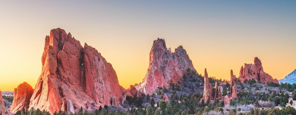 Pikes Peak & Garden of the Gods privétour vanuit Denver
