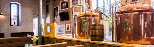 Premium Polish beer and food tasting tour in Szczecin