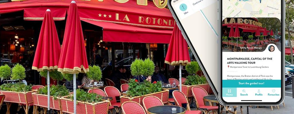 Recorrido por las artes en Montparnasse con una guía en el móvil