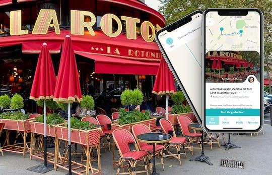 Tour dell'arte a Montparnasse con guida sul tuo smartphone