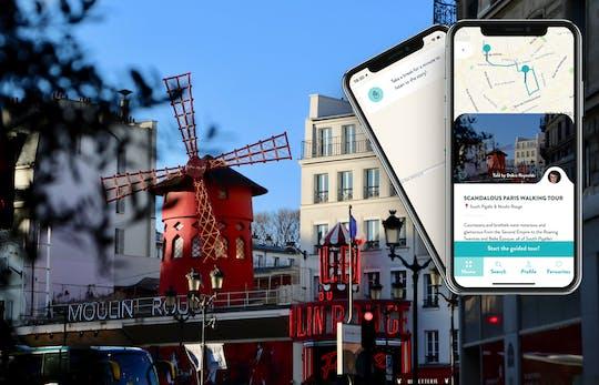 Скандальный Париже экскурсия с гидом на вашем смартфоне