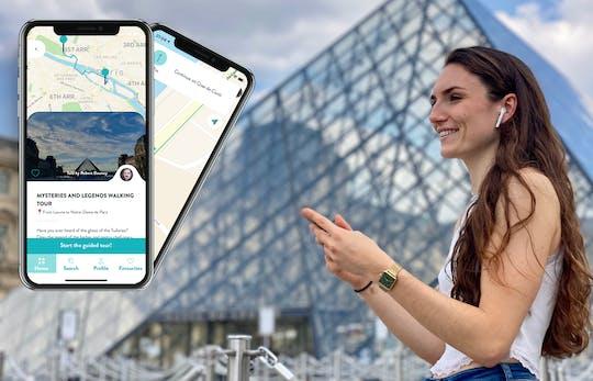 Recorrido de leyendas y misterios de París con guía en tu teléfono