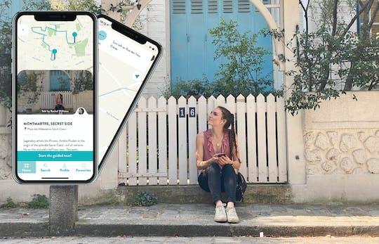 Visita guiada a Montmartre en tu smartphone