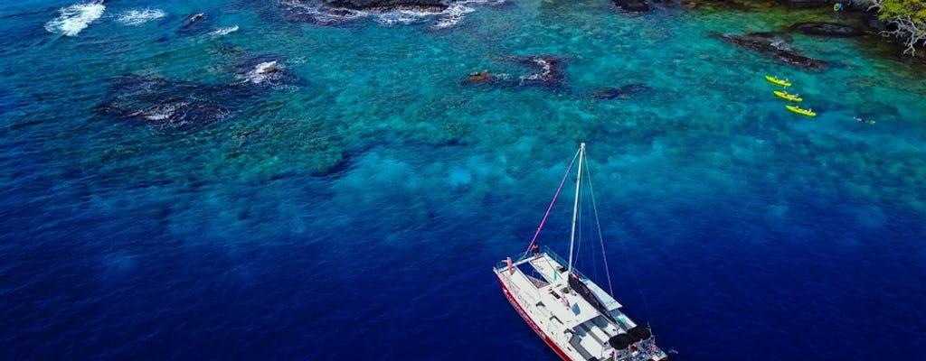 Опыт плавания с трубкой и парусом в Кеалакекуа
