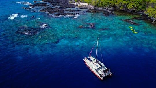 Kealakekua snorkel- en zeilervaring