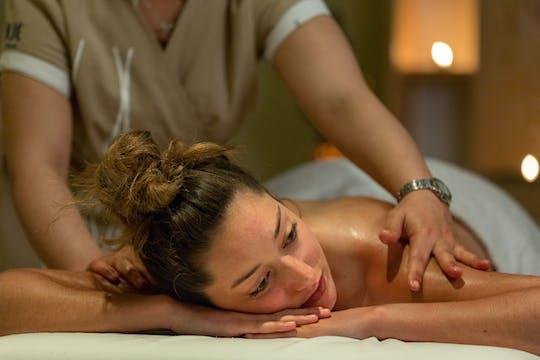 Udwartana Massage & High Tea in Tejas Spa