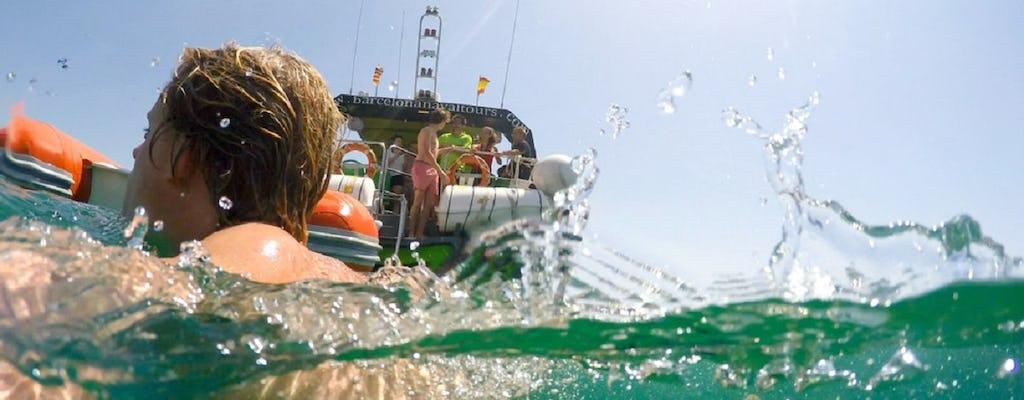 Sitges Schnorchel- und Schwimmbootsausflug