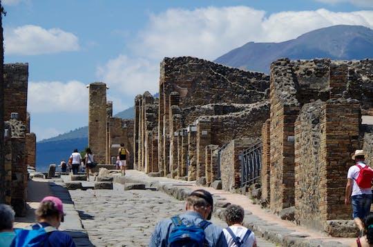 Visita guiada a Pompeya con entrada sin colas