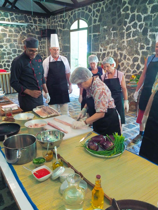 Les Aubineaux cooking class