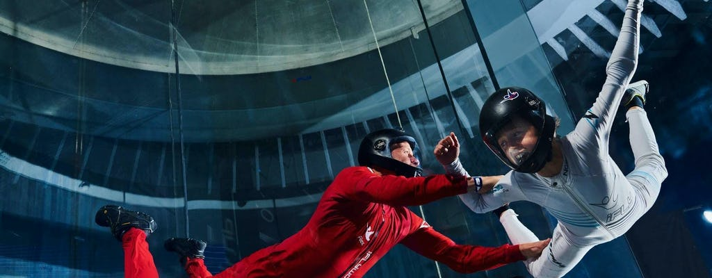 iFly Король Пруссии прыжки с парашютом в помещении