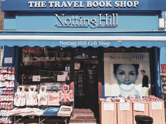 Notting Hill self-guided audio tour
