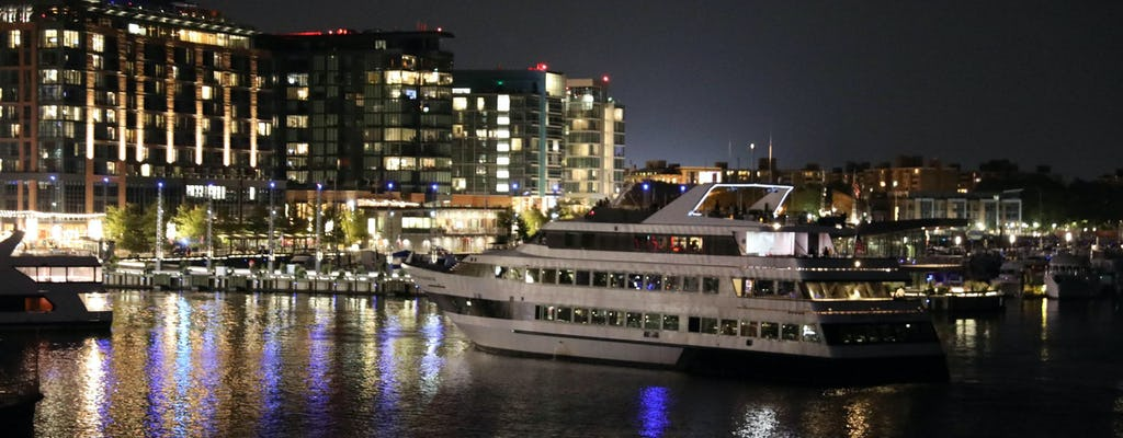 Spirit of Washington DC sunset dinner cruise with buffet
