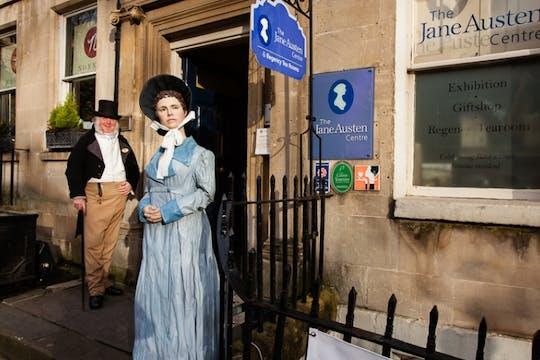 Wycieczka audio z przewodnikiem Jane Austen w Bath