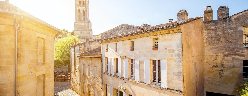 Wycieczka po winnicach w małej grupie w Bordeaux?
