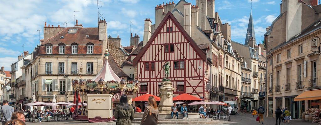 Piesza wycieczka po Dijon z przewodnikiem po mieście?
