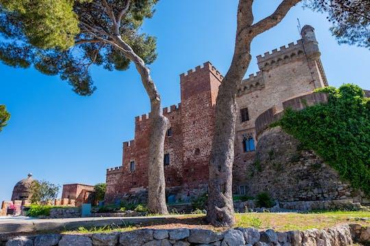Bilet wstępu do zamku Castelldefels z audioprzewodnikiem