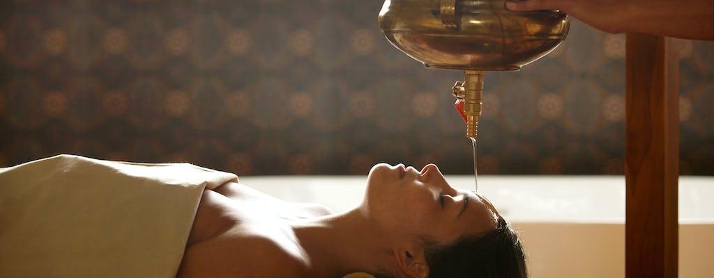 Massage de la tête Nasyam au Tejas Spa