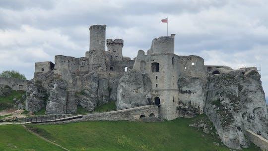 Visita a la ubicación de la película The Witcher y al castillo de Ogrodzieniec