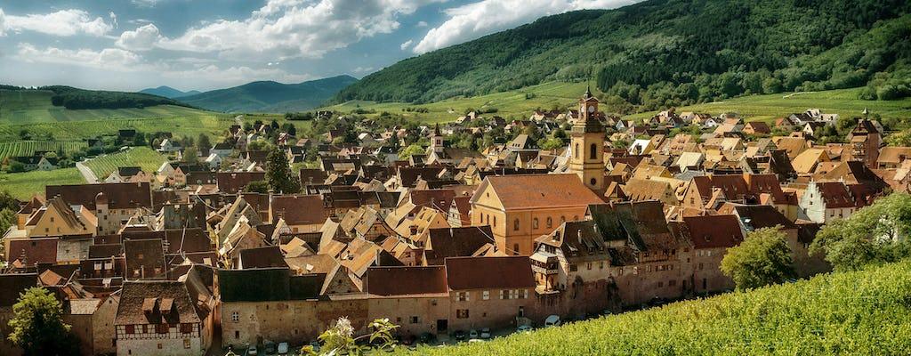 Excursão de dia inteiro em carro conversível à rota dos vinhos da Alsácia
