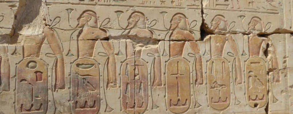 The temples of Dendera and Abydos from Luxor