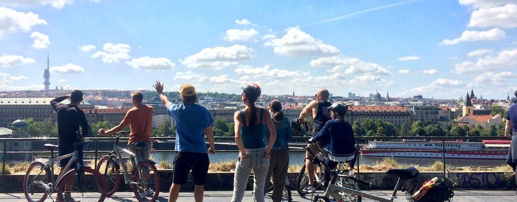 Панорамная экскурсия по Праге замок велосипед