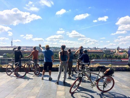 Tour in bici panoramico del Castello di Praga