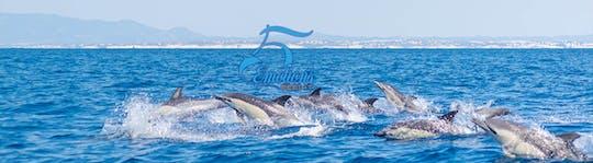 Visite des grottes de l'Algarve et observation des dauphins