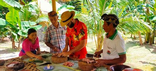 Experiencia única de clase de cocina de Bali en The Living Museum Bali