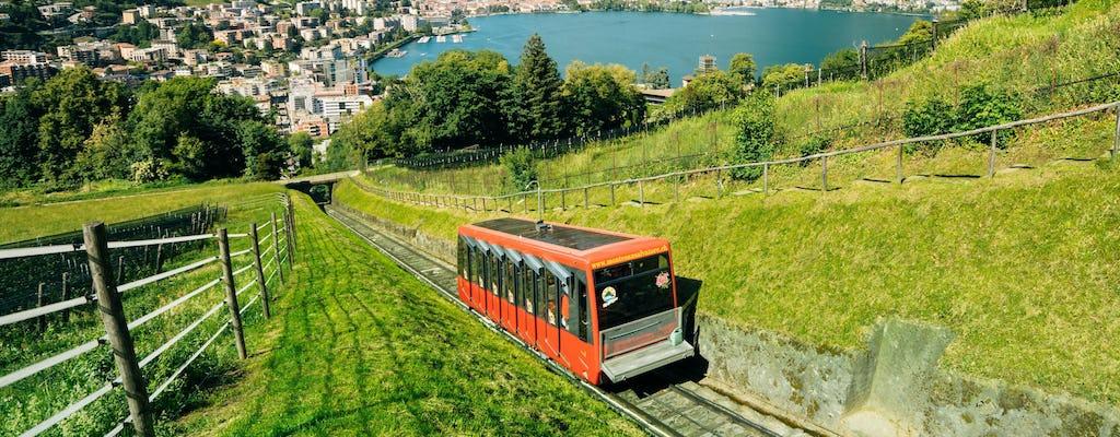 Ingresso para o funicular e museu do Monte San Salvatore