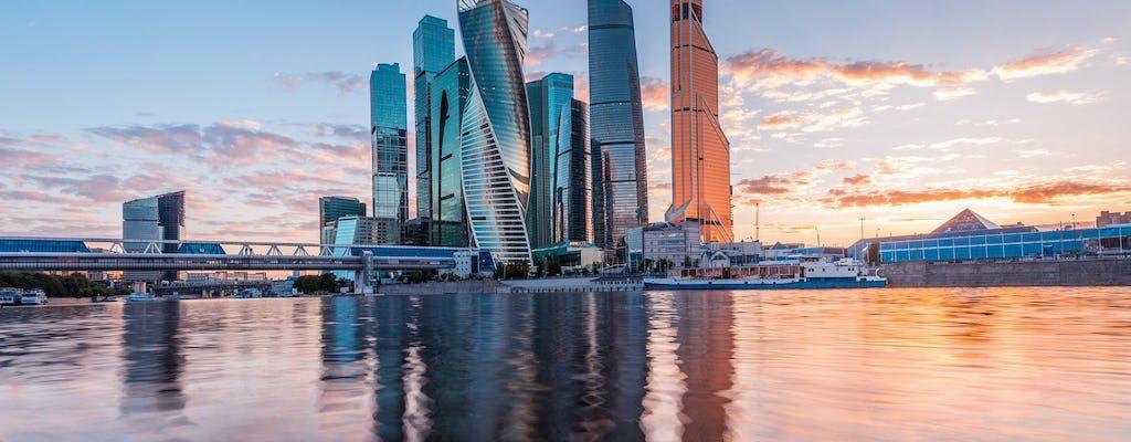 Moscú a vista de pájaro