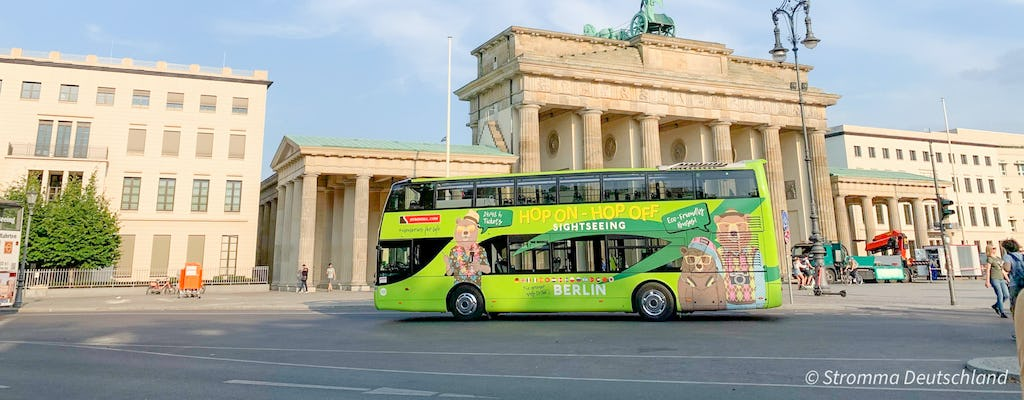 Hop On - Hop Off sightseeing bus on 2 routes for 24 or 48-hours in Berlin