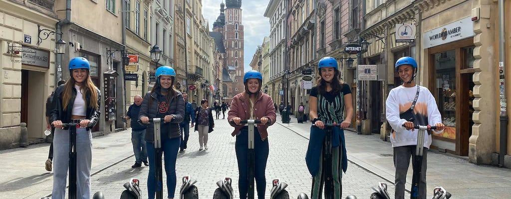 Passeio guiado de scooter com equilíbrio automático pelo centro histórico de Cracóvia
