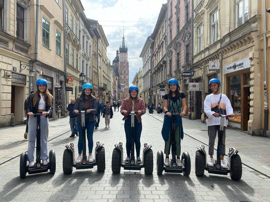 Экскурсия На Самобалансирующемся Скутере С Гидом По Старому Городу Кракова