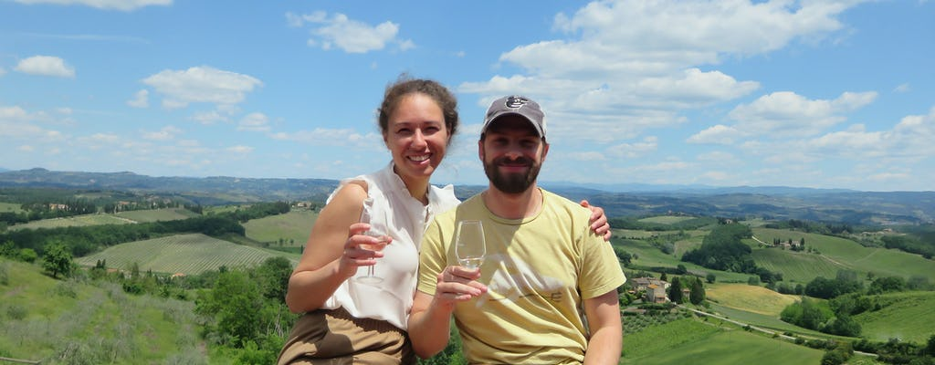 Chianti-wijntour vanuit San Gimignano