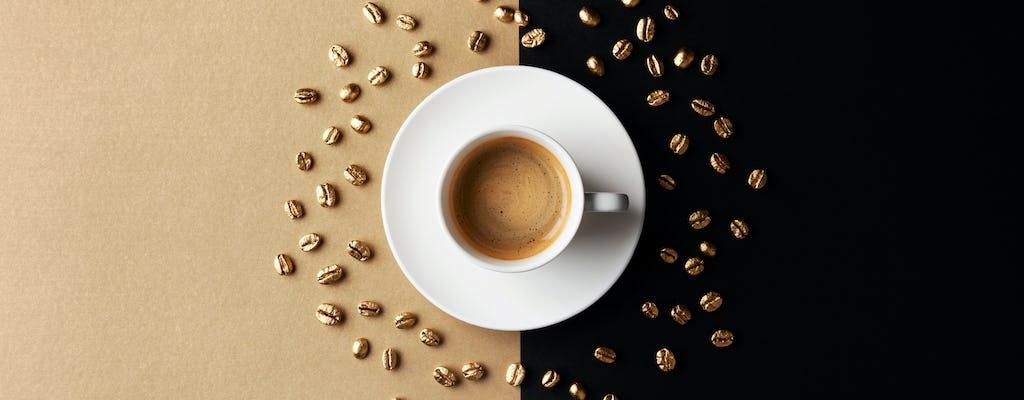 Visita de Qasr al Watan e cappuccino dourado no Emirates Palace