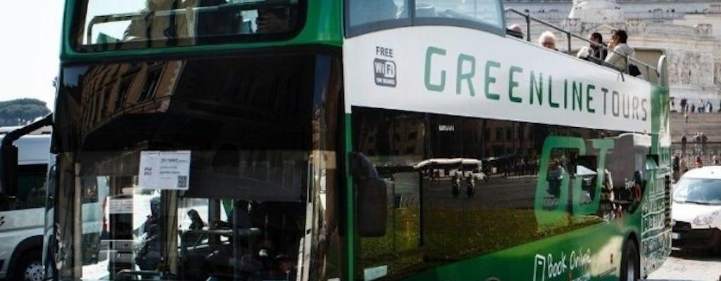 Excursão em ônibus panorâmico em Roma com 3 paradas