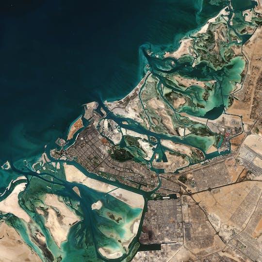Benvenuto all'audio tour autoguidato di Abu Dhabi