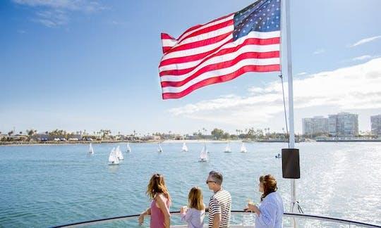 Cruzeiro de uma hora no porto de San Diego