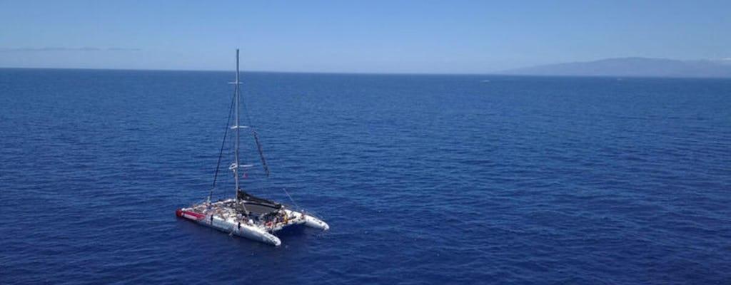 Wycieczka wielorybem katamaranu w Costa Adeje