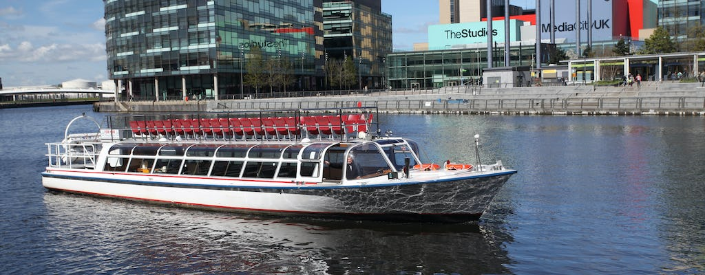 Heritage river cruise Manchester city