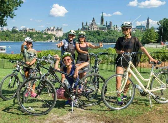 Ottawa 2-hour bike tour