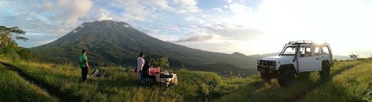 Ost-Bali Geländewagen-Safari bei Sonnenaufgang und Fahrradtour