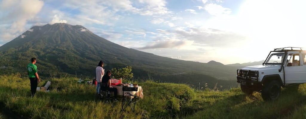 Ost-Bali Geländewagen-Safari bei Sonnenaufgang und Salak-Plantage Öko-Wanderung