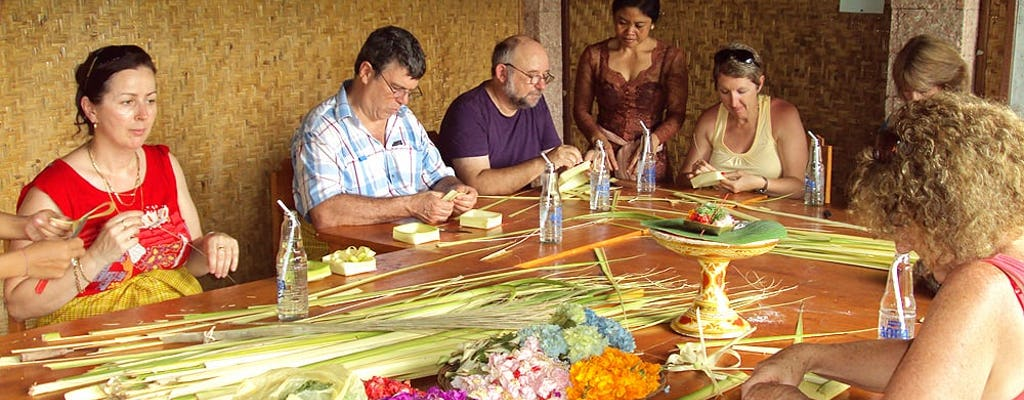 Balinesischer Hindu-Opfergaben-Workshop
