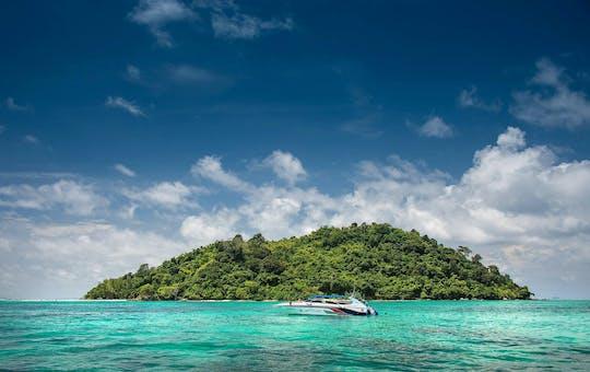 Phi Phi Eilanden Speedboottocht  met Ton Sai Beach Lunch