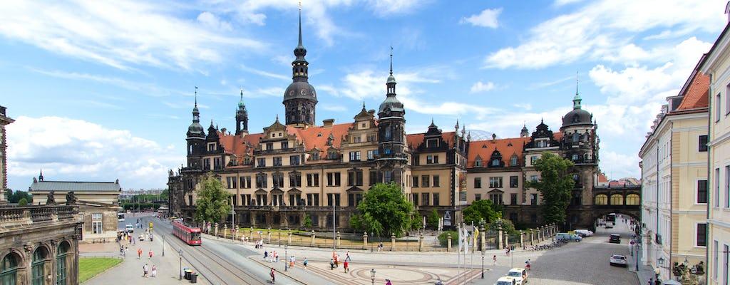 Tour por la ciudad de Dresde con visita al Residence Palace