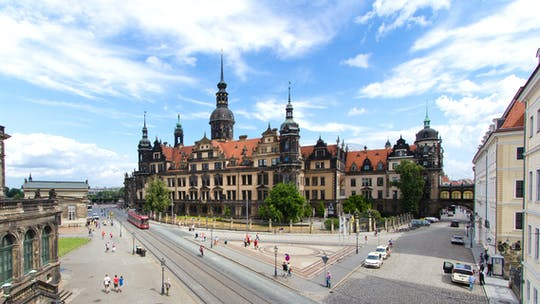 Dresden city tour with Residence Palace visit