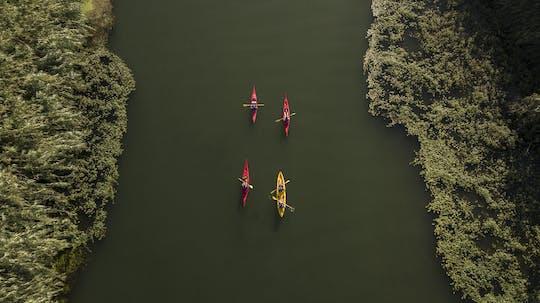 Paseo en kayak por la Illa de Gràcia