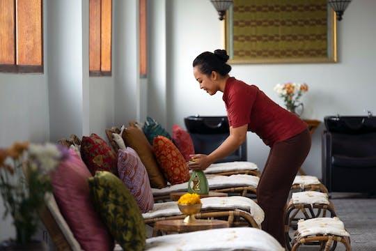 60-minütige Udwartana-Massage im Tejas Spa